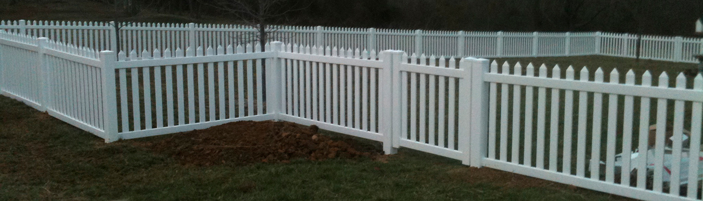 Lexington vinyl fence
